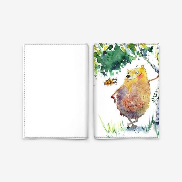 Обложка для паспорта «Миша »