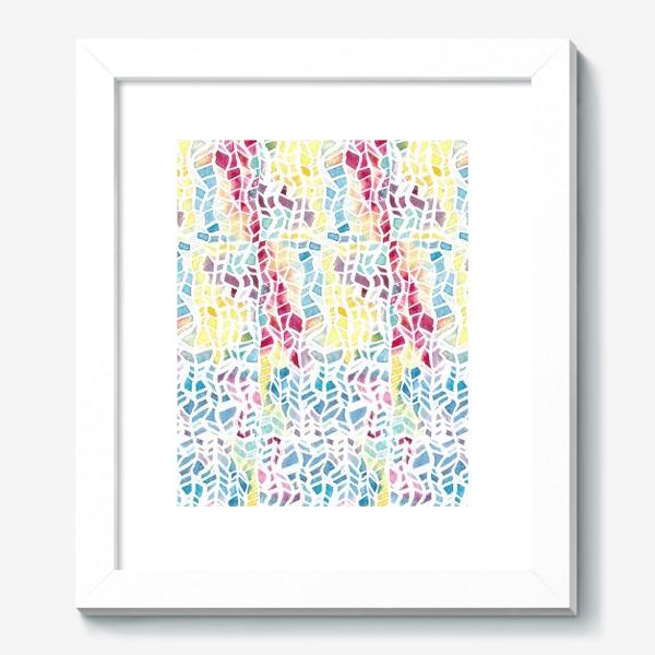 Картина «Акварельный абстрактный паттерн»