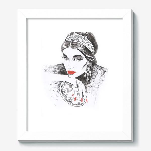 Картина «Fashion girl»