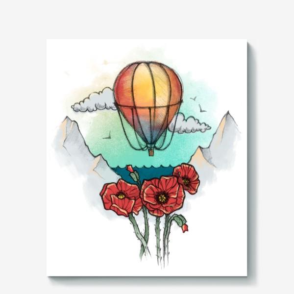 Холст «Воздушный шар»