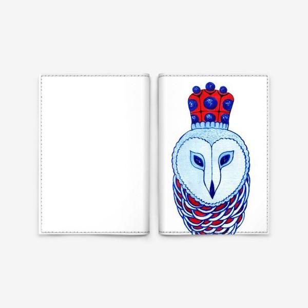 Обложка для паспорта «Сова. Королева ночи»