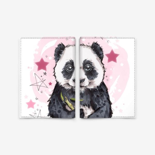 Обложка для паспорта «Пандочка»