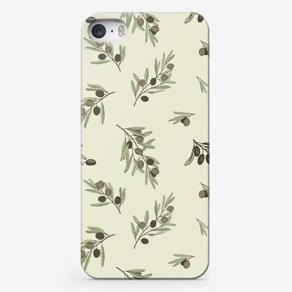 Чехол iPhone «Оливковые ветви-1»