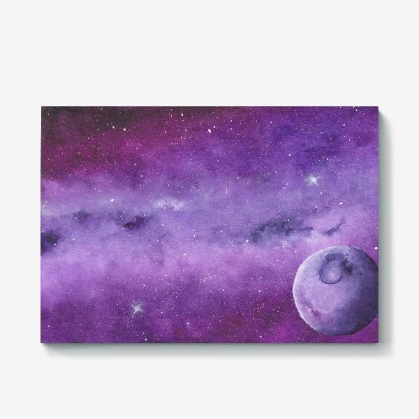 Холст «Фиолетовый мир»