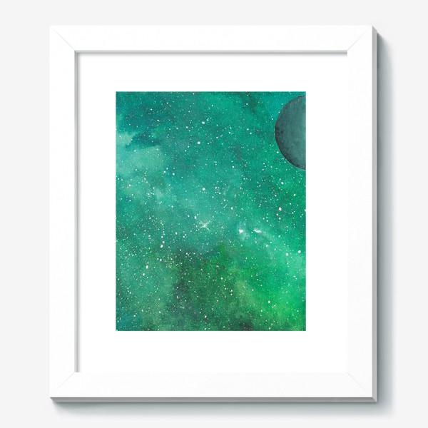 Картина «Космическая зелень»