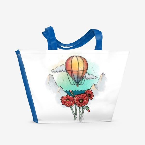 Пляжная сумка «Воздушный шар»