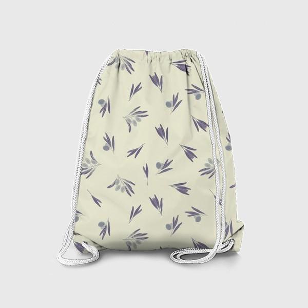 Рюкзак «Синие маслины»