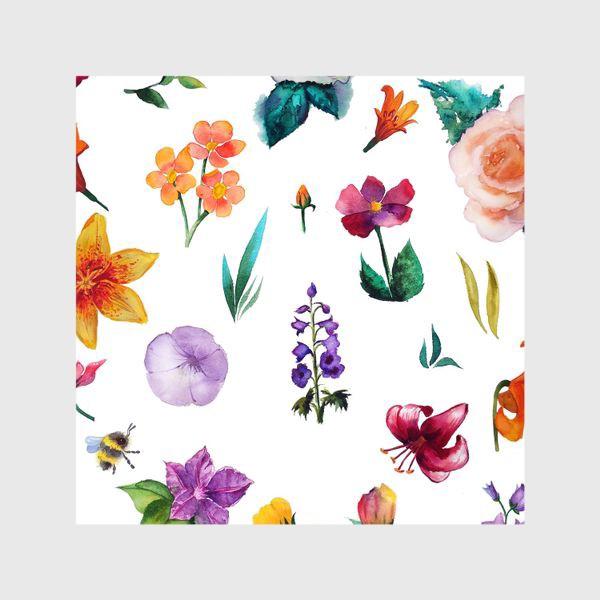 Шторы «Садовые цветы»
