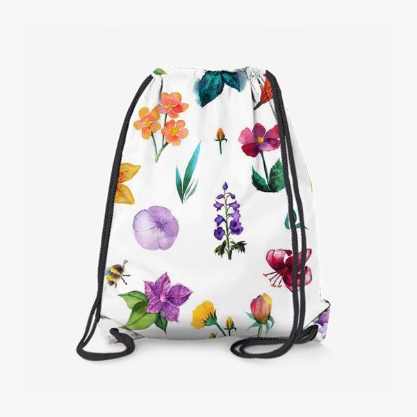 Рюкзак «Садовые цветы»