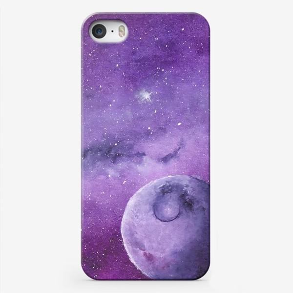 Чехол iPhone «Фиолетовый мир»