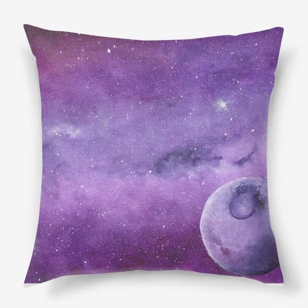 Подушка «Фиолетовый мир»