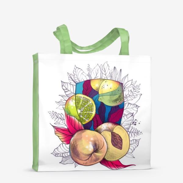 Сумка-шоппер «Персиковый лимонад»