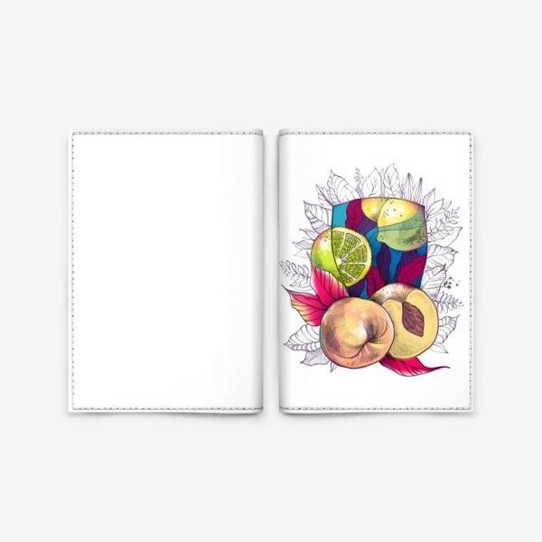 Обложка для паспорта «Персиковый лимонад»
