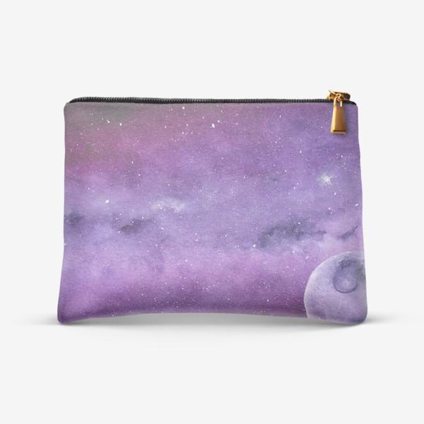 Косметичка «Фиолетовый мир»
