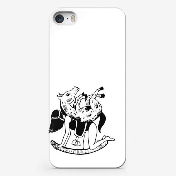 Чехол iPhone «Шиворот-навыворот, задом-наперед»