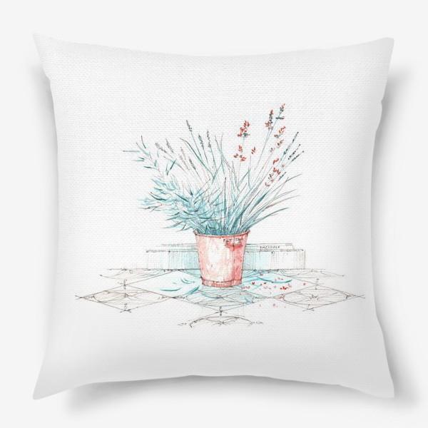 Подушка «Мятные травы»
