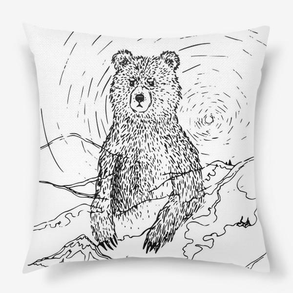 Подушка «Медведь - хранитель леса»
