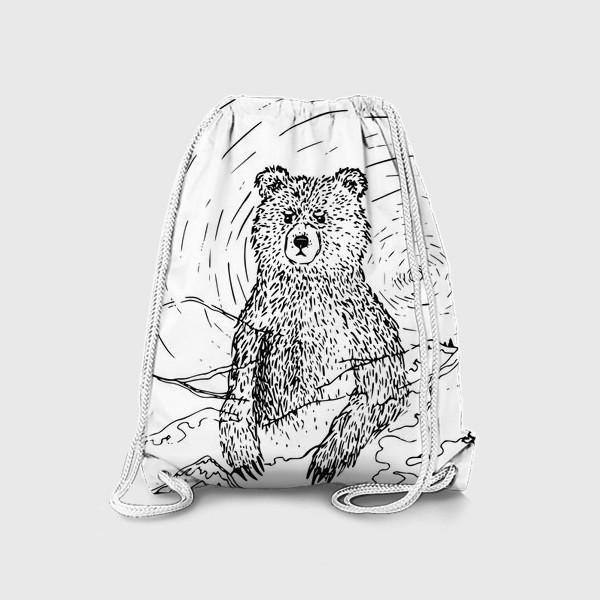Рюкзак «Медведь - хранитель леса»