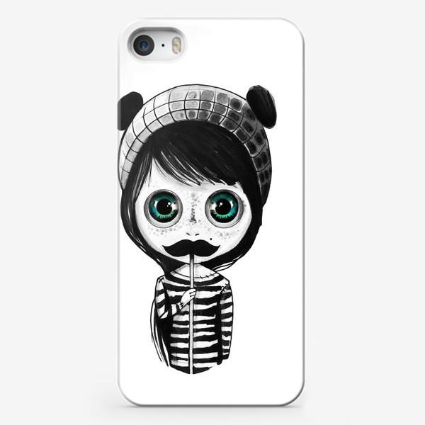 Чехол iPhone «Носи усы»