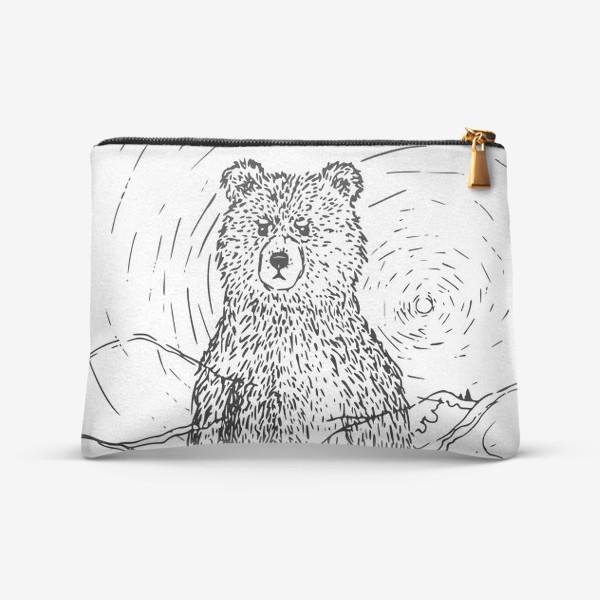 Косметичка «Медведь - хранитель леса»