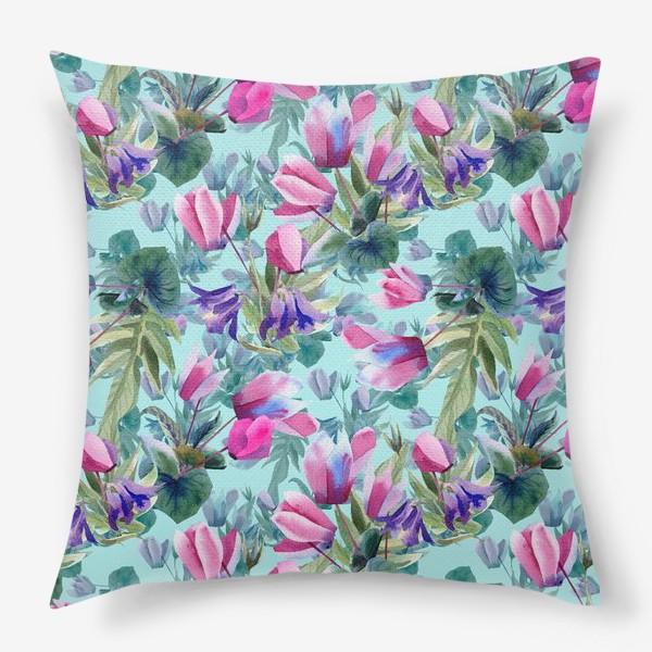 Подушка «Summer flowers»