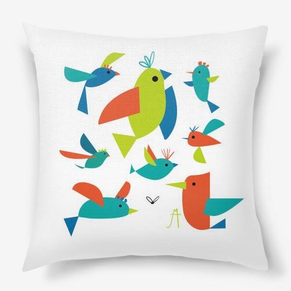 Подушка «пташки»