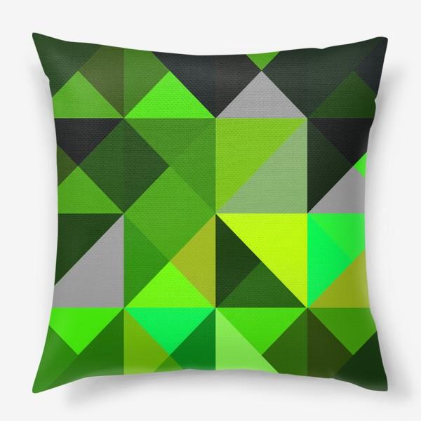 Подушка «зелень»