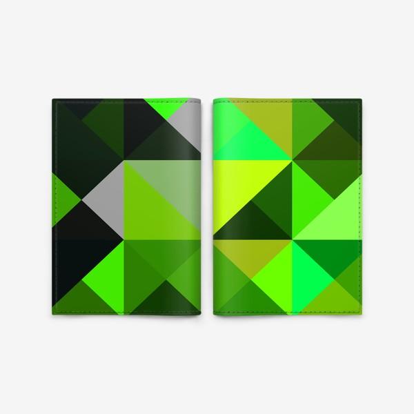 Обложка для паспорта «зелень»