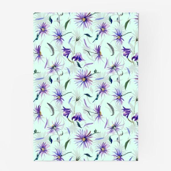 Постер «Watercolor flowers»
