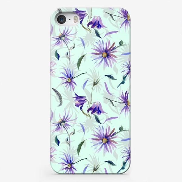 Чехол iPhone «Watercolor flowers»