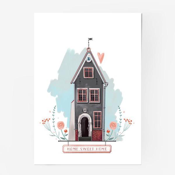 Постер «sweet home. милый дом»