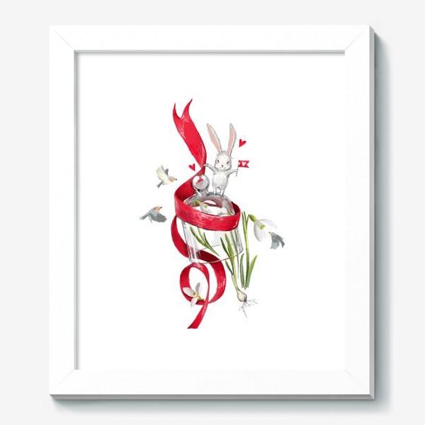 Картина «весенний зайчик»