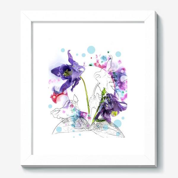 Картина «Цветы и акварели»