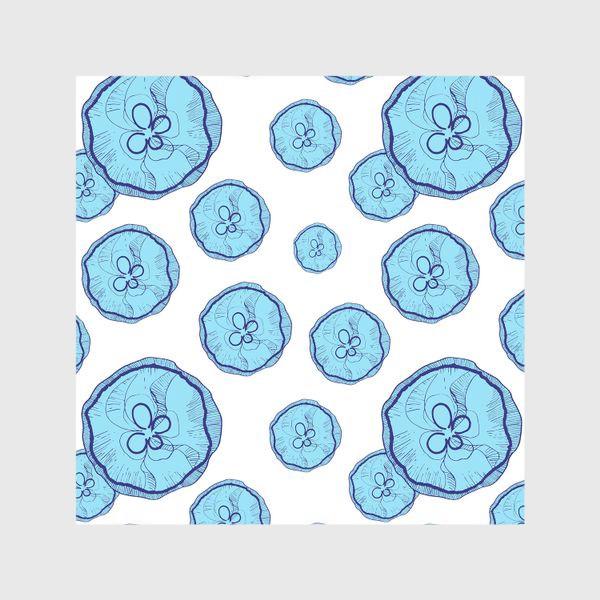 Шторы «Голубые медузы»