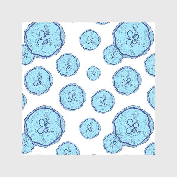 Скатерть «Голубые медузы»