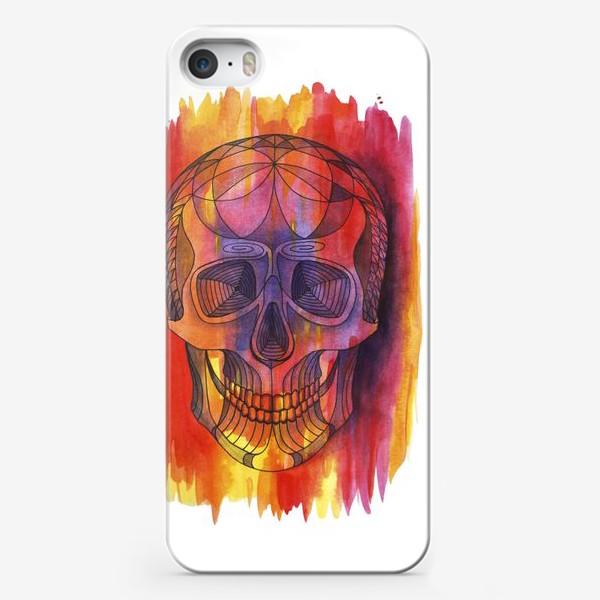 Чехол iPhone «Череп»