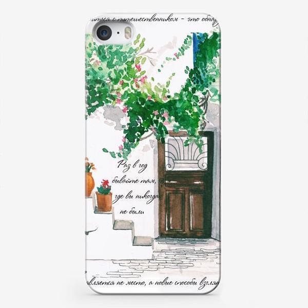 Чехол iPhone «Путешествия»