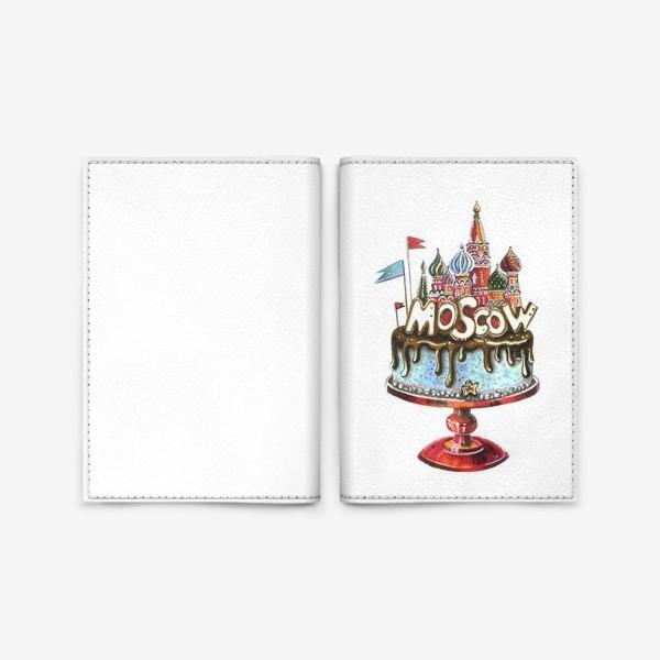Обложка для паспорта «МОСКВА»