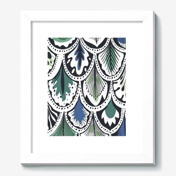 Картина «Узор из павлиньих перьев»