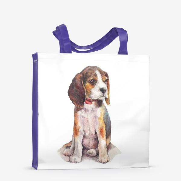 Сумка-шоппер «собака бигль»