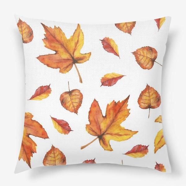 Подушка «Осенний листопад»