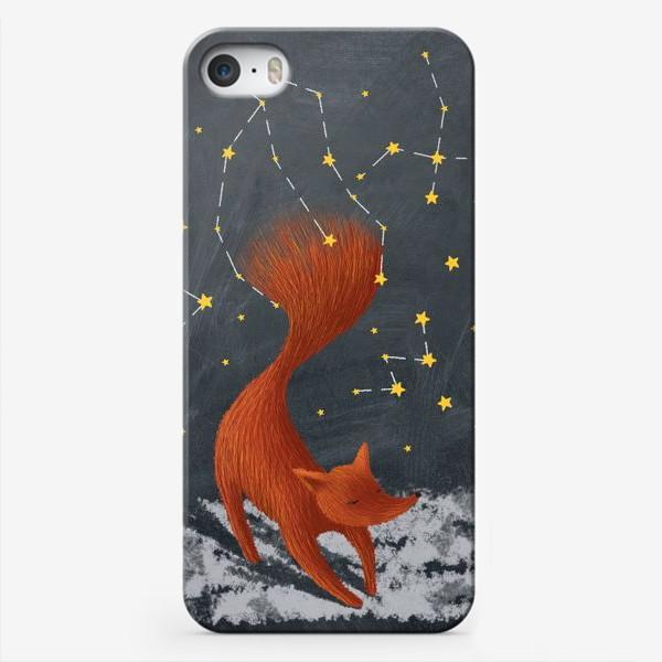 Чехол iPhone «Звездный лис»