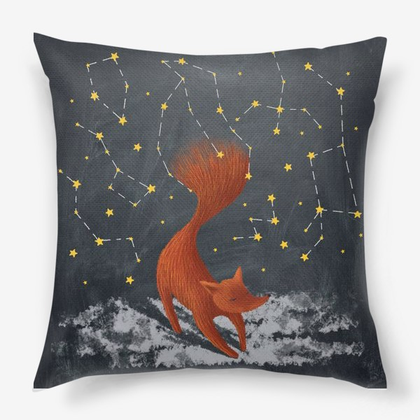 Подушка «Звездный лис»