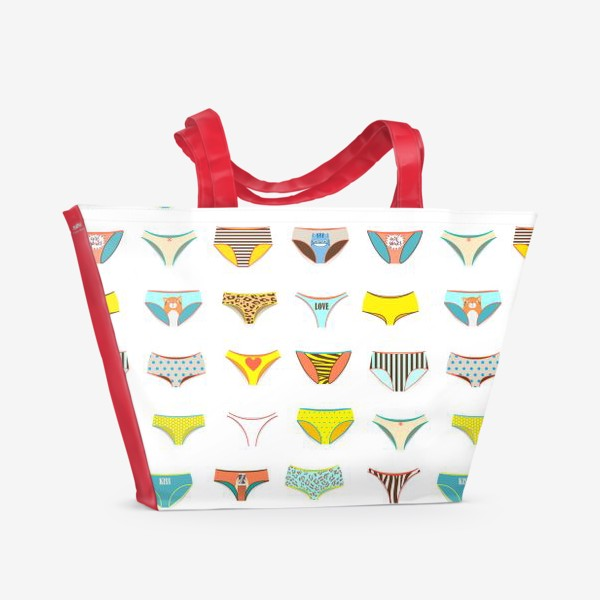Пляжная сумка «Много труселей»