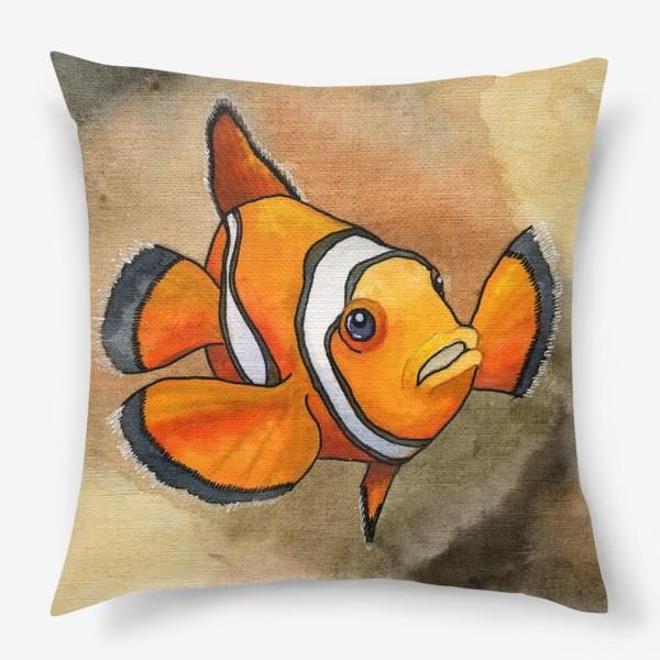 Подушка «Рыба-клоун»
