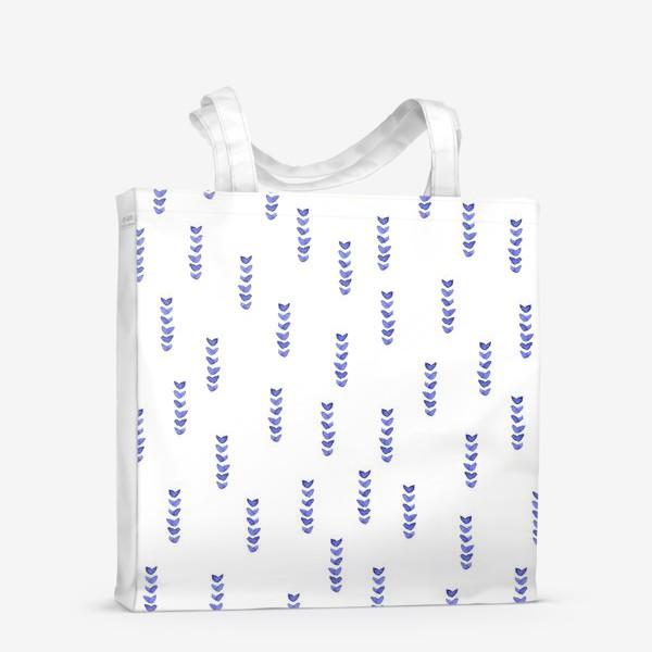 Сумка-шоппер «Абстрактные веточки»