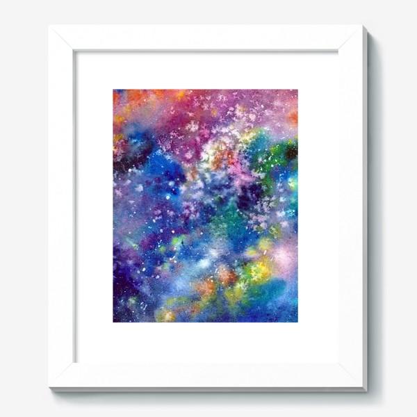 Картина «Космический фон. Вселенная.»