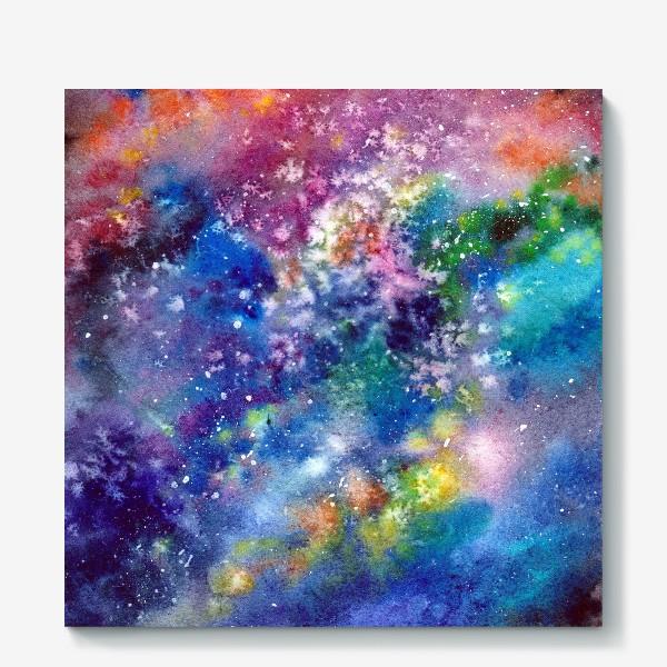 Холст «Космический фон. Вселенная.»