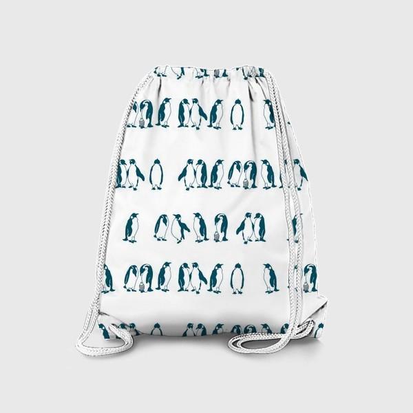 Рюкзак «Компания пингвинов»