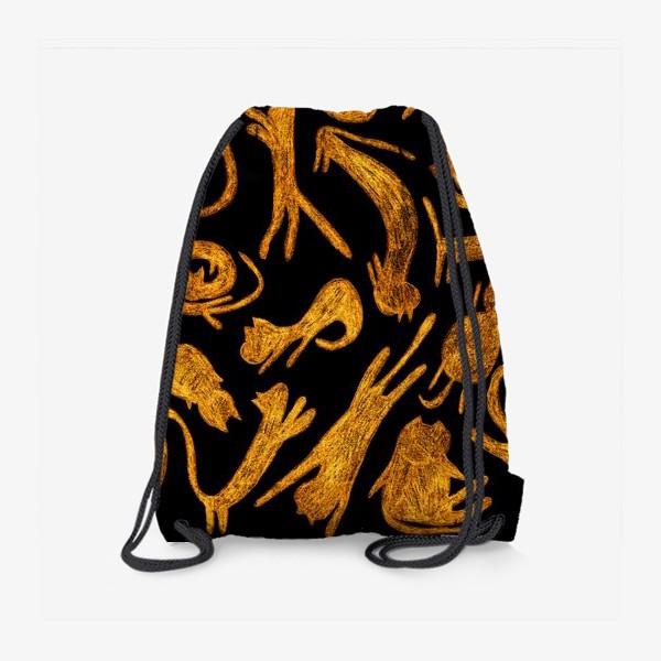 Рюкзак «рыжие коты»